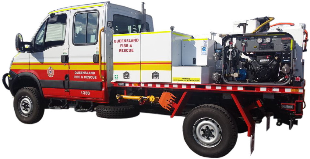 Multi Purpose Fire Appliance with CAFS Unit